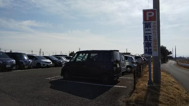 子供のもり公園伊勢崎第2駐車場201902