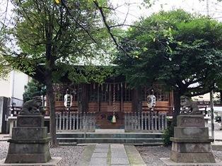 氷川神社(中野区本町)