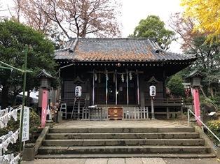 氷川神社(練馬区氷川台)