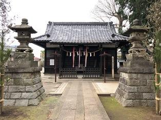 八幡神社(練馬区中村南)