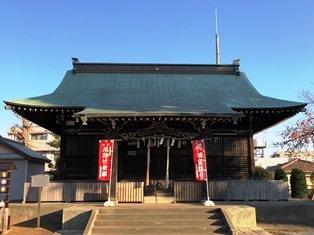 谷原氷川神社