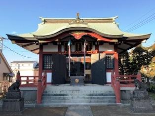 富士見台稲荷神社