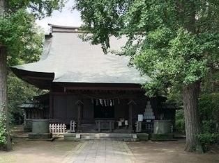 諏訪大神(千葉県香取郡東庄町)