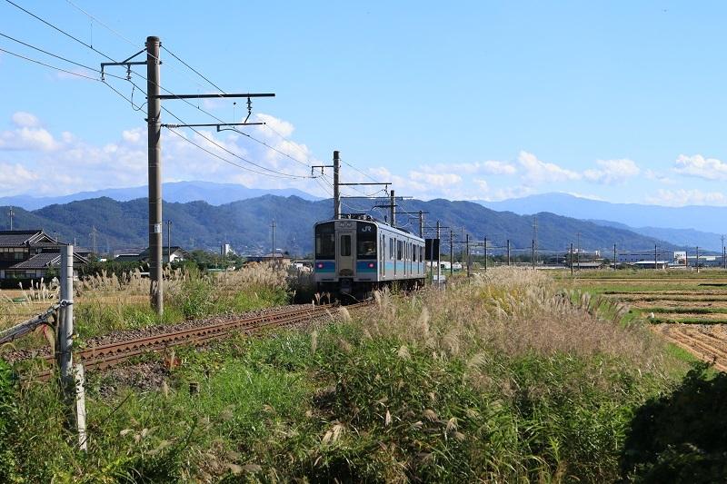 20181008大糸線安曇沓掛駅付近1a