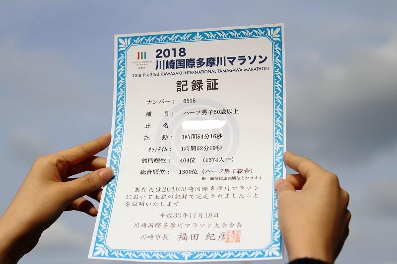 20181118多摩川国際ハーフマラソン-1