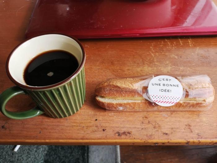 朝食兼昼食