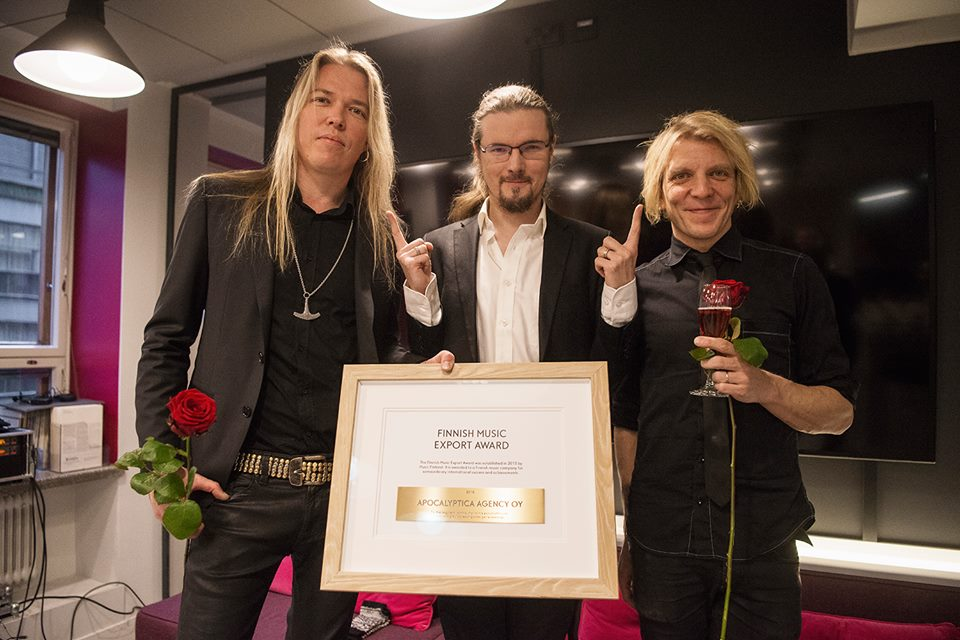 Apocalyptica Finnish Music Export Award 賞 受賞