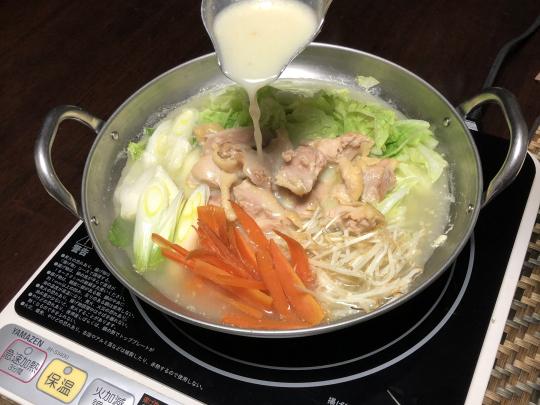 白湯 スープ