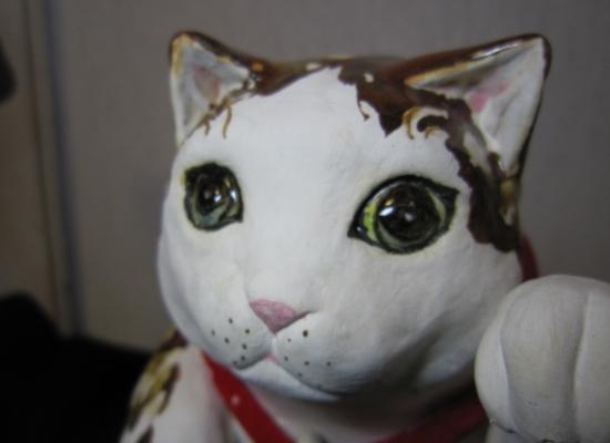 立ち招き猫2