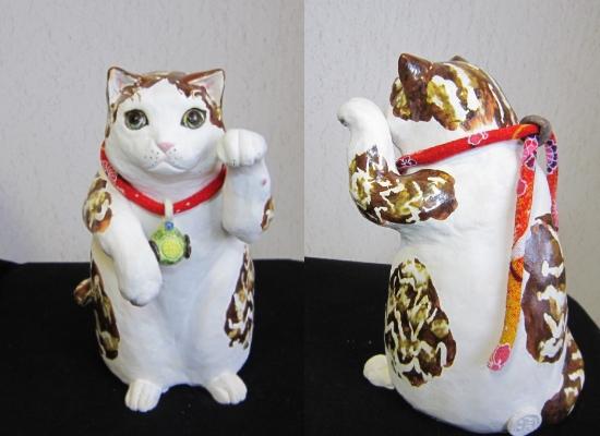 立ち招き猫1
