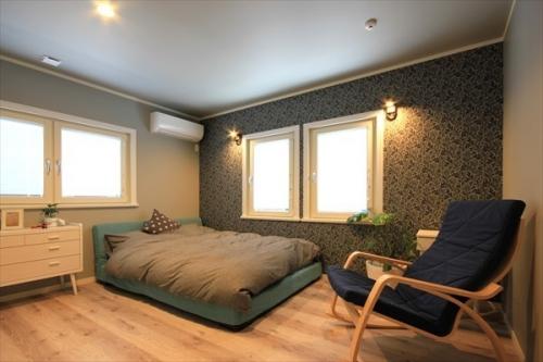 スウェーデンホーム K様 主寝室