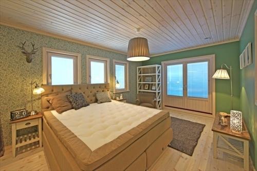 スウェーデンホーム 主寝室