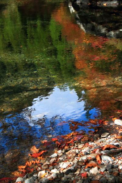 殿川内渓谷-水鏡-181006