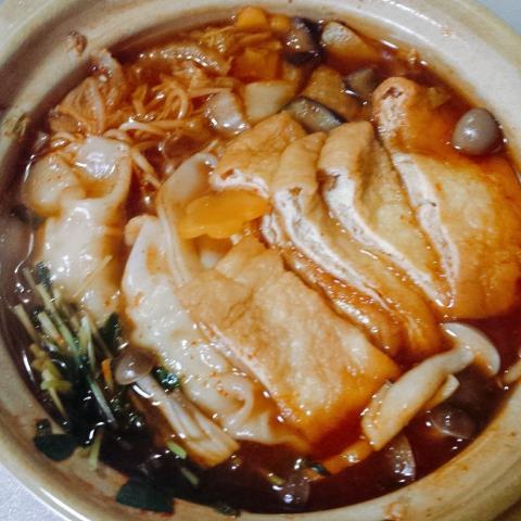 2018-11-15-赤から餃子鍋(三番)できあがり