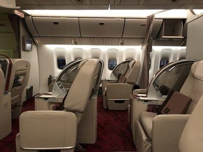 JAL First class 01