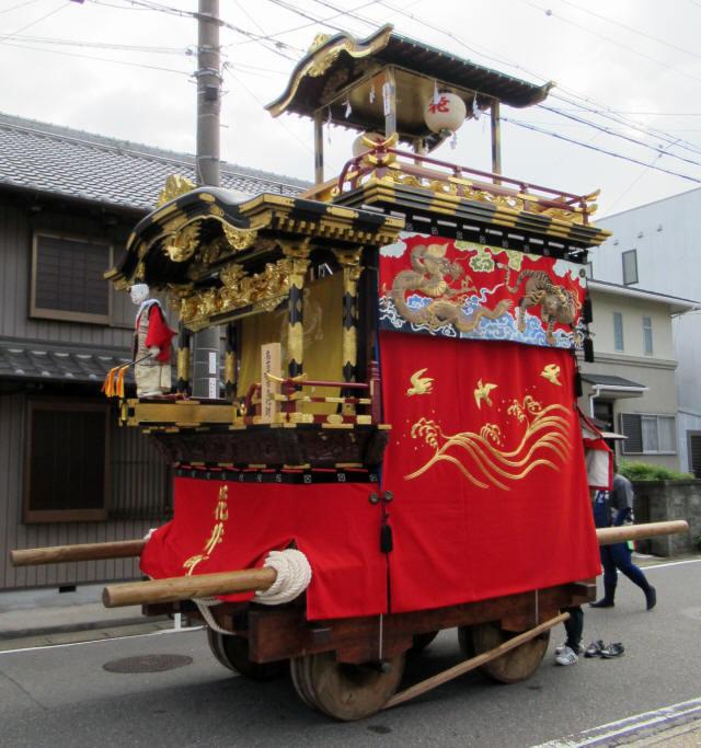 花井町の山車1