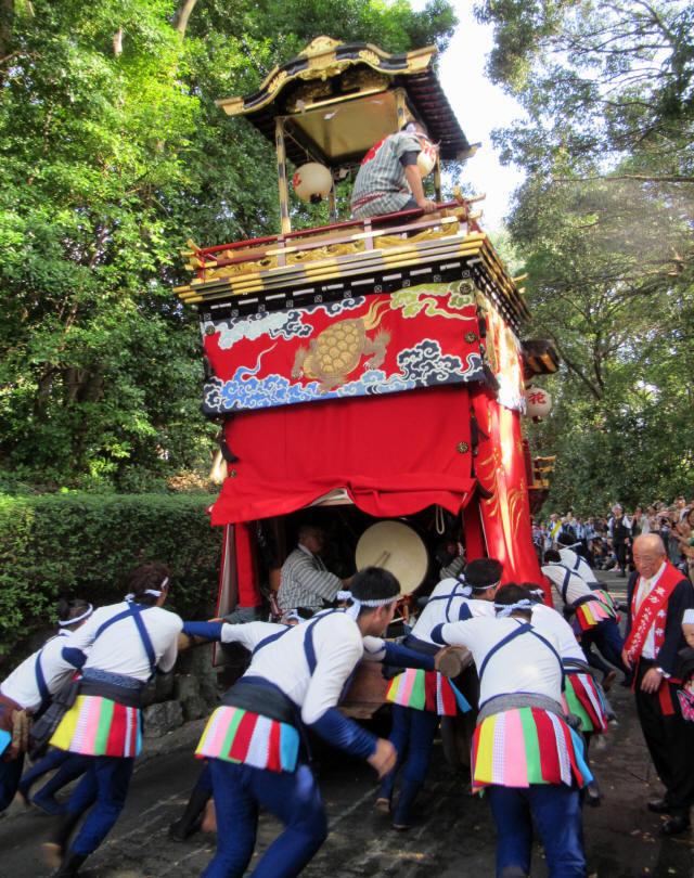 花井町の山車6
