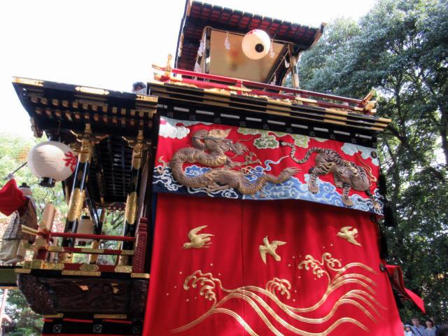 花井町の山車8