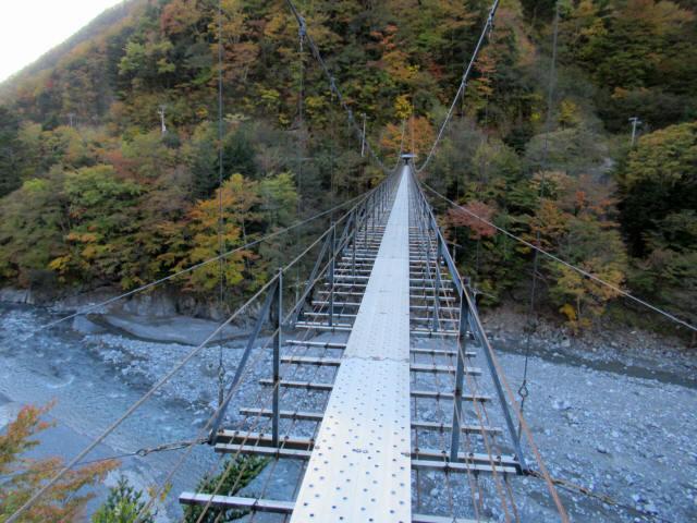 中の宿吊橋2