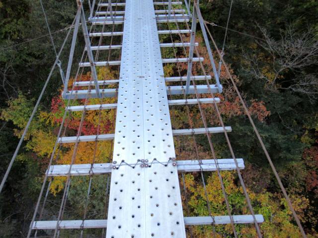 中の宿吊橋9