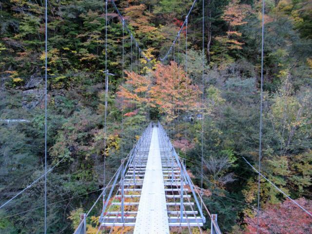 中の宿吊橋4
