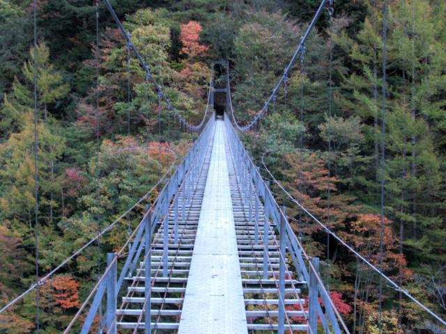 中の宿吊橋7