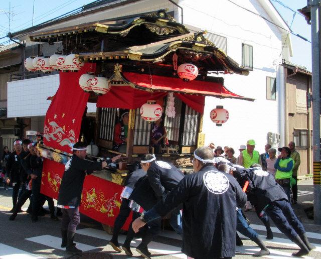 中嶋町の山車3