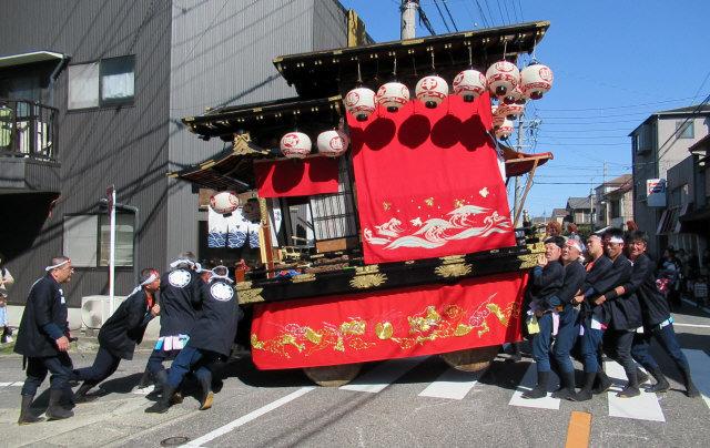 中嶋町の山車4
