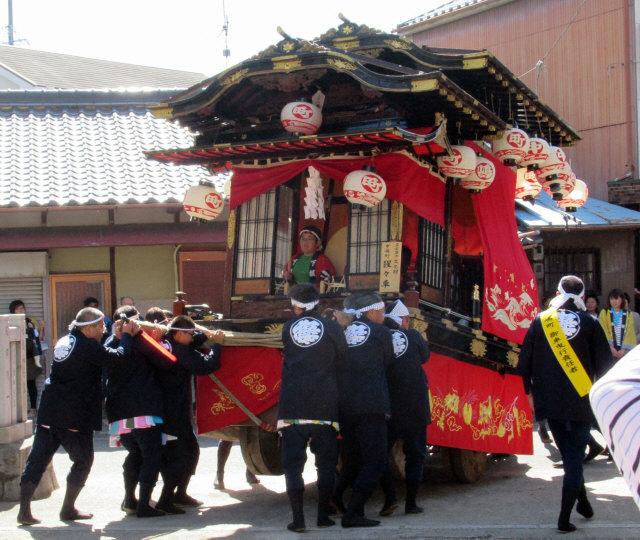 中嶋町の山車6