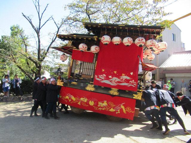 中嶋町の山車7