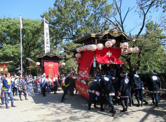 中嶋町の山車8