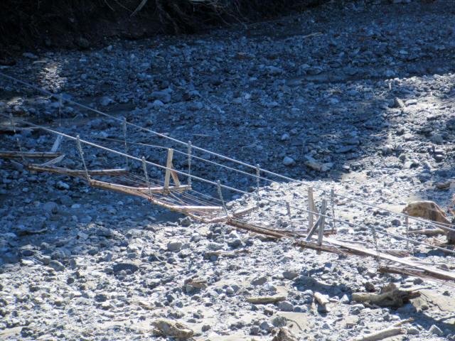 小河内の吊橋Ⅱ4