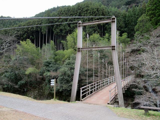 猿飛千壺峡の吊橋7