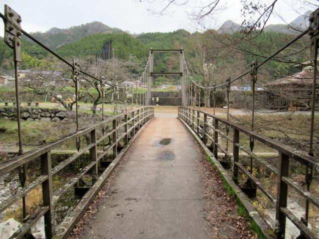 猿飛千壺峡の吊橋0