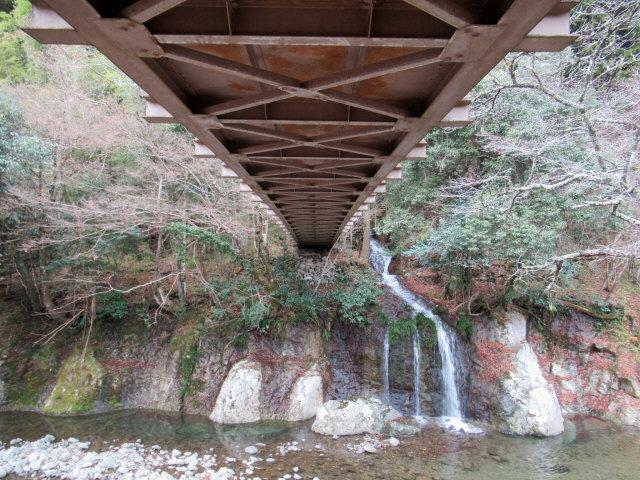 猿飛千壺峡の吊橋b