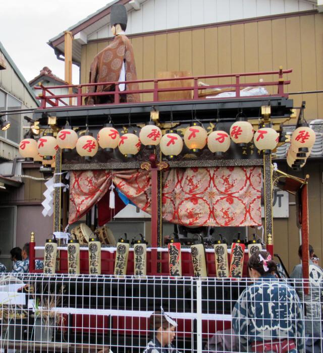 松尾社の屋台2