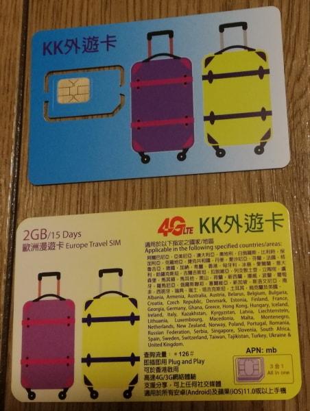 KK外遊カード