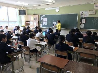 亀田さんから歴史の話が
