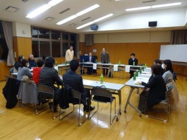 上田町連会長の挨拶