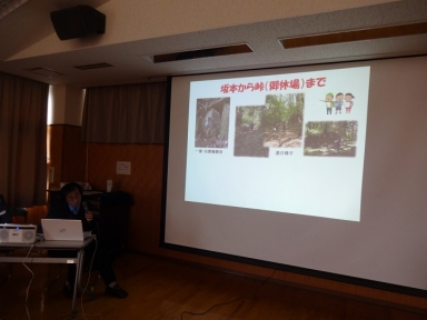 上田さんの殿様道と石仏の話
