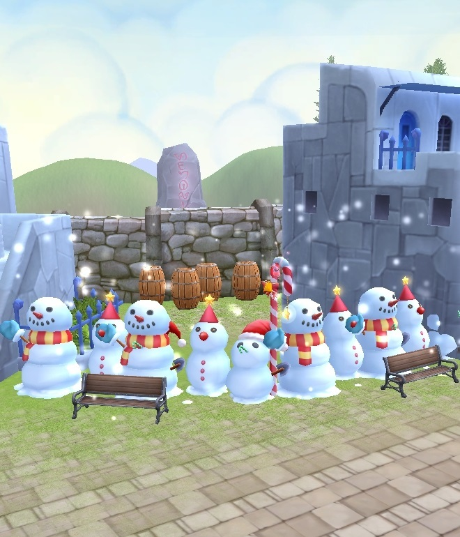 GFブログ(W10)用232A2 アイランド家具・クリスマス用