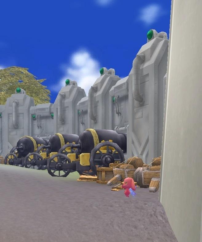 GFブログ(W10)用259A5 GFの風景・騎士の谷 騎士訓練場中3 トラヴィス