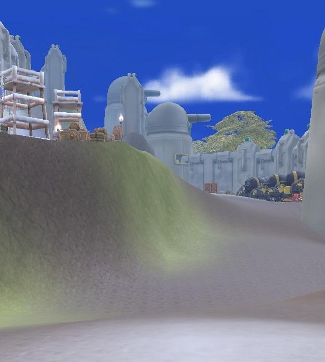 GFブログ(W10)用259A4 GFの風景・騎士の谷 騎士訓練場中2