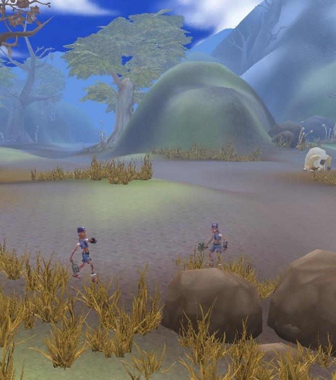GFブログ(W10)用259A7 GFの風景・騎士の谷 盗賊