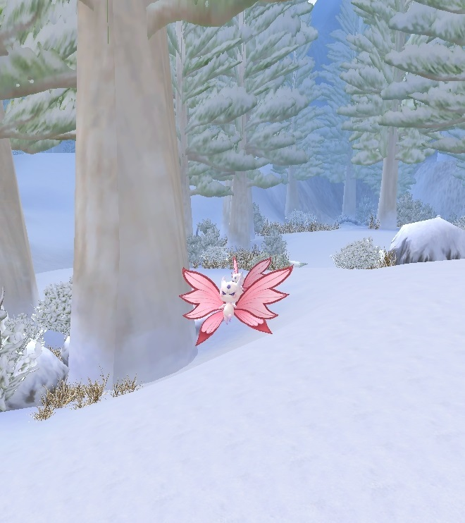 GFブログ(W10)用259A13 GFの風景・騎士の谷 雪の精霊