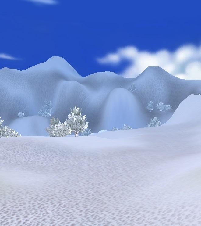 GFブログ(W10)用259A18 GFの風景・騎士の谷 雪山