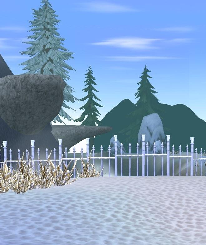 GFブログ(W10)用274A6 GFの風景・永久山脈 街の柵