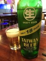 台湾生ビール181020