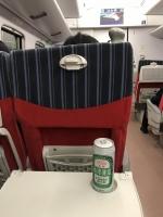 電車の旅にはやはりビール181025