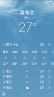 いい天気ですが181201